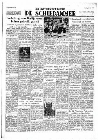 Rotterdamsch Parool / De Schiedammer 1949-07-30