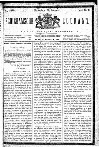 Schiedamsche Courant 1879-01-20