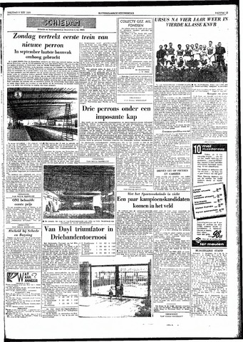 Rotterdamsch Nieuwsblad / Schiedamsche Courant / Rotterdams Dagblad / Waterweg / Algemeen Dagblad 1959-05-08