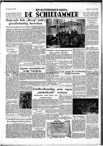 Rotterdamsch Parool / De Schiedammer 1949-11-04