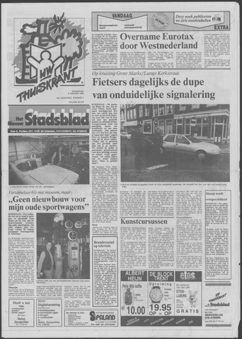 Het Nieuwe Stadsblad 1992-01-08