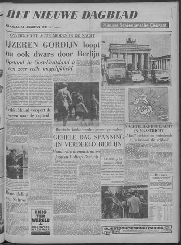Nieuwe Schiedamsche Courant 1961-08-14