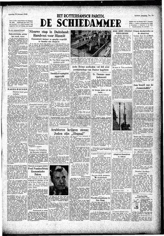 Rotterdamsch Parool / De Schiedammer 1948-01-20