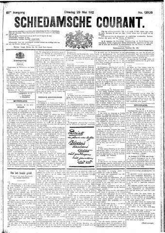 Schiedamsche Courant 1912-05-28