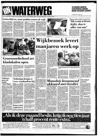 Rotterdamsch Nieuwsblad / Schiedamsche Courant / Rotterdams Dagblad / Waterweg / Algemeen Dagblad 1987-04-09
