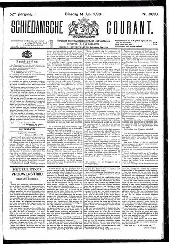 Schiedamsche Courant 1898-06-14
