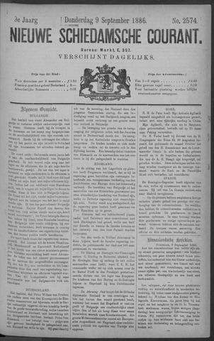 Nieuwe Schiedamsche Courant 1886-09-09