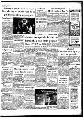Rotterdamsch Parool / De Schiedammer 1962-09-10