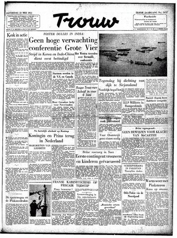Trouw / De Rotterdammer 1953-05-23