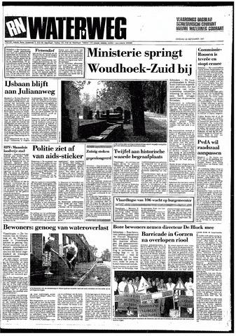 Rotterdamsch Nieuwsblad / Schiedamsche Courant / Rotterdams Dagblad / Waterweg / Algemeen Dagblad 1987-09-22