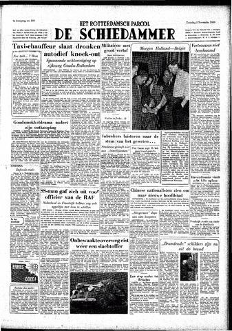 Rotterdamsch Parool / De Schiedammer 1949-11-05