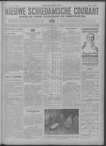 Nieuwe Schiedamsche Courant 1929-04-03