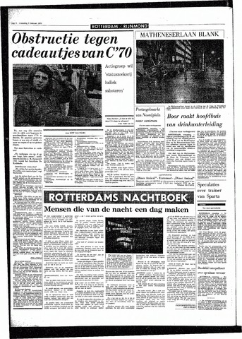 Rotterdamsch Parool / De Schiedammer 1970-02-04