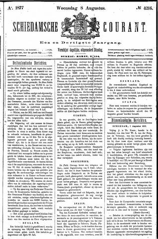 Schiedamsche Courant 1877-08-08