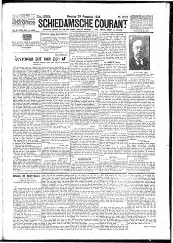 Schiedamsche Courant 1933-08-29