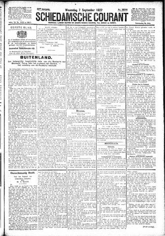Schiedamsche Courant 1927-09-07