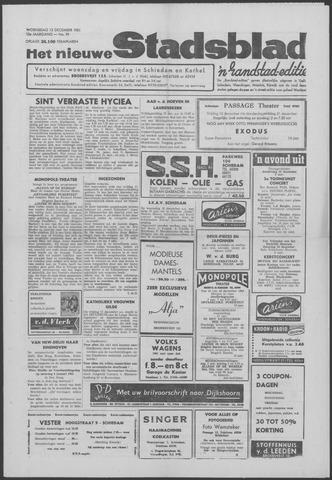 Het Nieuwe Stadsblad 1961-12-13