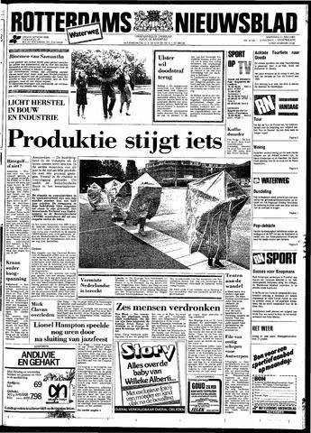 Rotterdamsch Nieuwsblad / Schiedamsche Courant / Rotterdams Dagblad / Waterweg / Algemeen Dagblad 1983-07-11