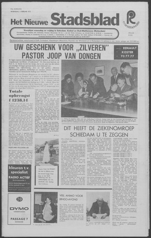 Het Nieuwe Stadsblad 1972-02-02