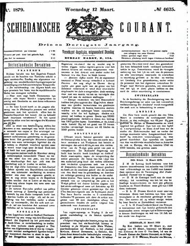 Schiedamsche Courant 1879-03-12