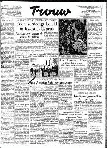 Trouw / De Rotterdammer 1956-03-15