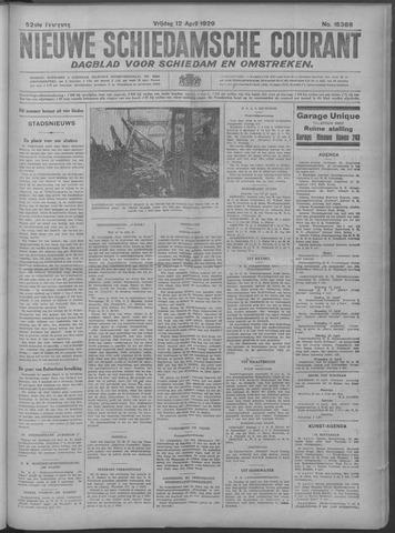 Nieuwe Schiedamsche Courant 1929-04-12