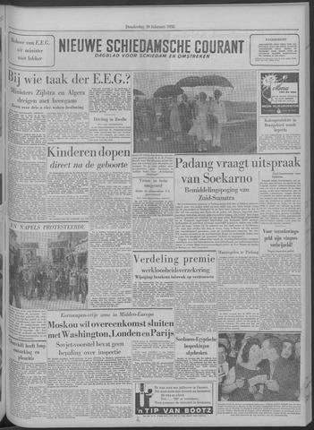 Nieuwe Schiedamsche Courant 1958-02-20