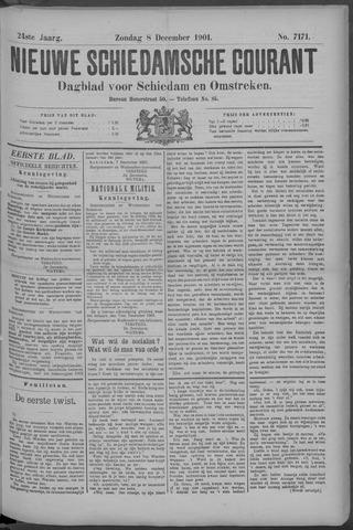 Nieuwe Schiedamsche Courant 1901-12-08