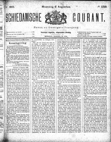 Schiedamsche Courant 1883-08-06