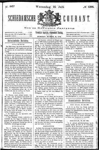 Schiedamsche Courant 1877-07-25