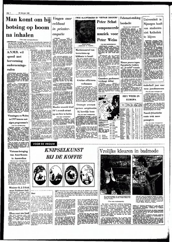Rotterdamsch Parool / De Schiedammer 1968-02-26