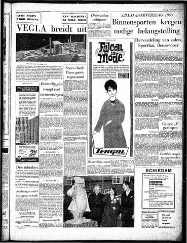 Rotterdamsch Parool / De Schiedammer 1964-04-07