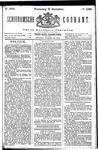 Schiedamsche Courant 1881-12-21