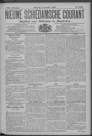 Nieuwe Schiedamsche Courant 1909-10-18