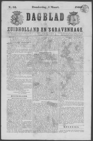 Dagblad van Zuid-Holland 1860-03-01