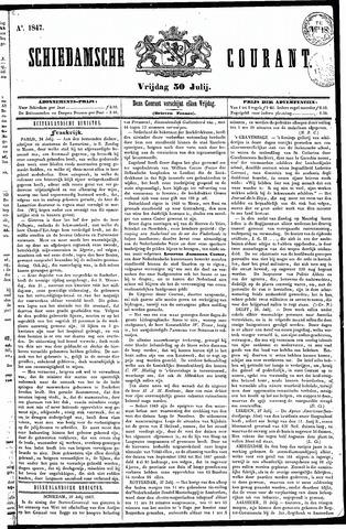 Schiedamsche Courant 1847-07-30