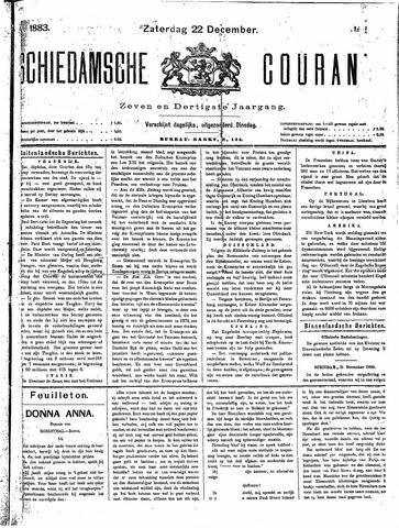 Schiedamsche Courant 1883-12-22
