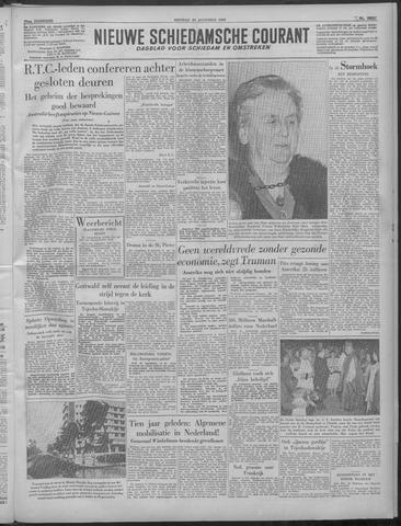 Nieuwe Schiedamsche Courant 1949-08-30
