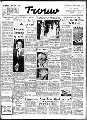 Trouw / De Rotterdammer 1960-07-02