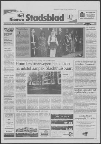 Het Nieuwe Stadsblad 2000-04-12