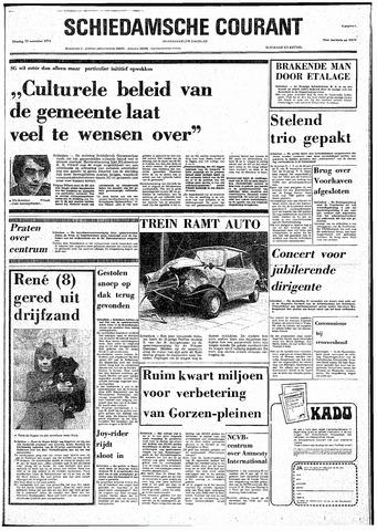 Rotterdamsch Nieuwsblad / Schiedamsche Courant / Rotterdams Dagblad / Waterweg / Algemeen Dagblad 1974-11-19