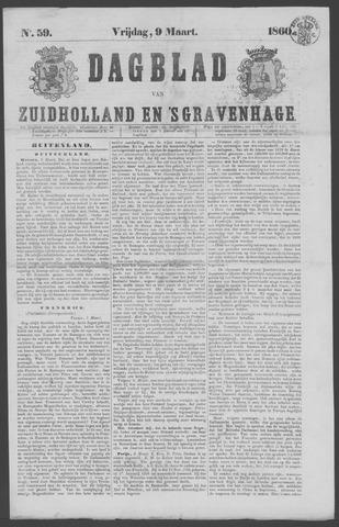 Dagblad van Zuid-Holland 1860-03-09