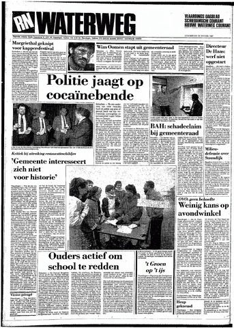 Rotterdamsch Nieuwsblad / Schiedamsche Courant / Rotterdams Dagblad / Waterweg / Algemeen Dagblad 1987-01-22