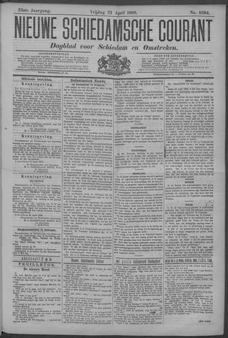 Nieuwe Schiedamsche Courant 1909-04-23