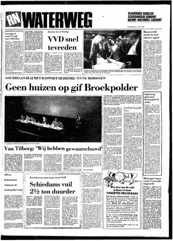 Rotterdamsch Nieuwsblad / Schiedamsche Courant / Rotterdams Dagblad / Waterweg / Algemeen Dagblad 1985-06-06