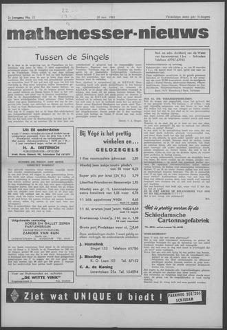 Mathenesser Nieuws 1963-11-20