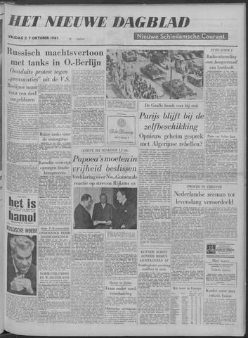 Nieuwe Schiedamsche Courant 1961-10-27