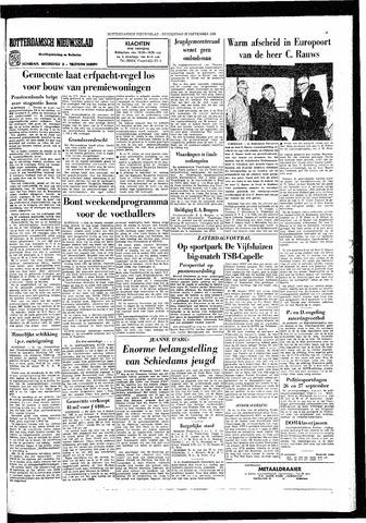 Rotterdamsch Nieuwsblad / Schiedamsche Courant / Rotterdams Dagblad / Waterweg / Algemeen Dagblad 1966-09-22