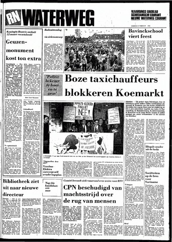 Rotterdamsch Nieuwsblad / Schiedamsche Courant / Rotterdams Dagblad / Waterweg / Algemeen Dagblad 1983-02-08