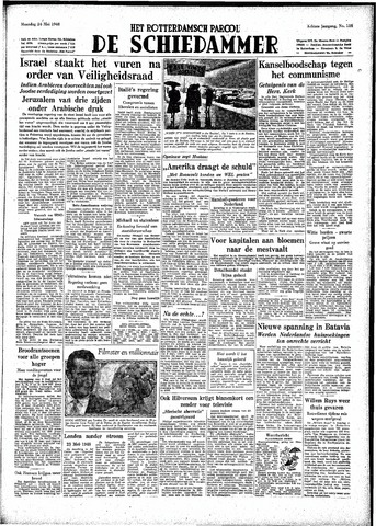 Rotterdamsch Parool / De Schiedammer 1948-05-24